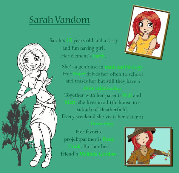 Sarah Vandom Despcription by YummingDoe4