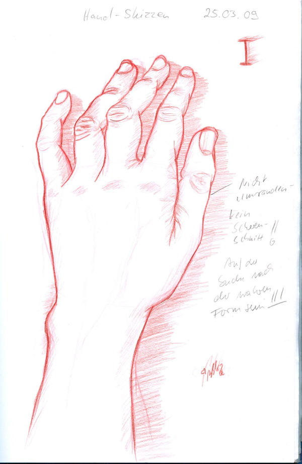 Art Class hand sketch 1 by YummingDoe4