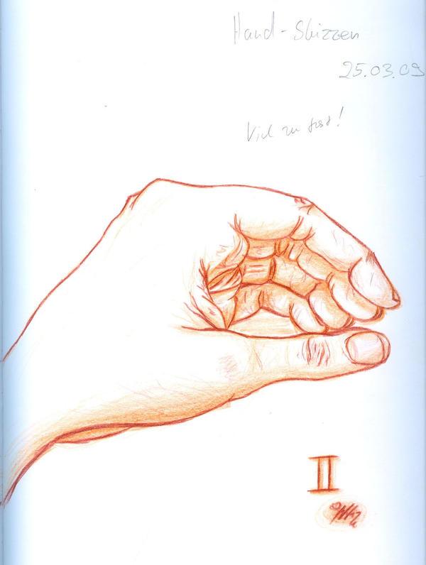 Art Class Hand Sketch 2 by YummingDoe4