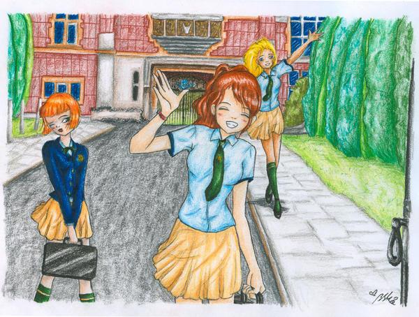 english school in color by YummingDoe4