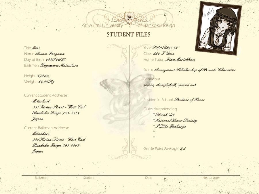 BKR School Record by YummingDoe4