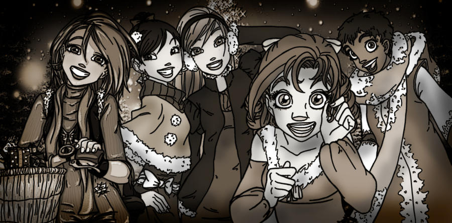 Old Christmas with W.I.T.C.H. by YummingDoe4