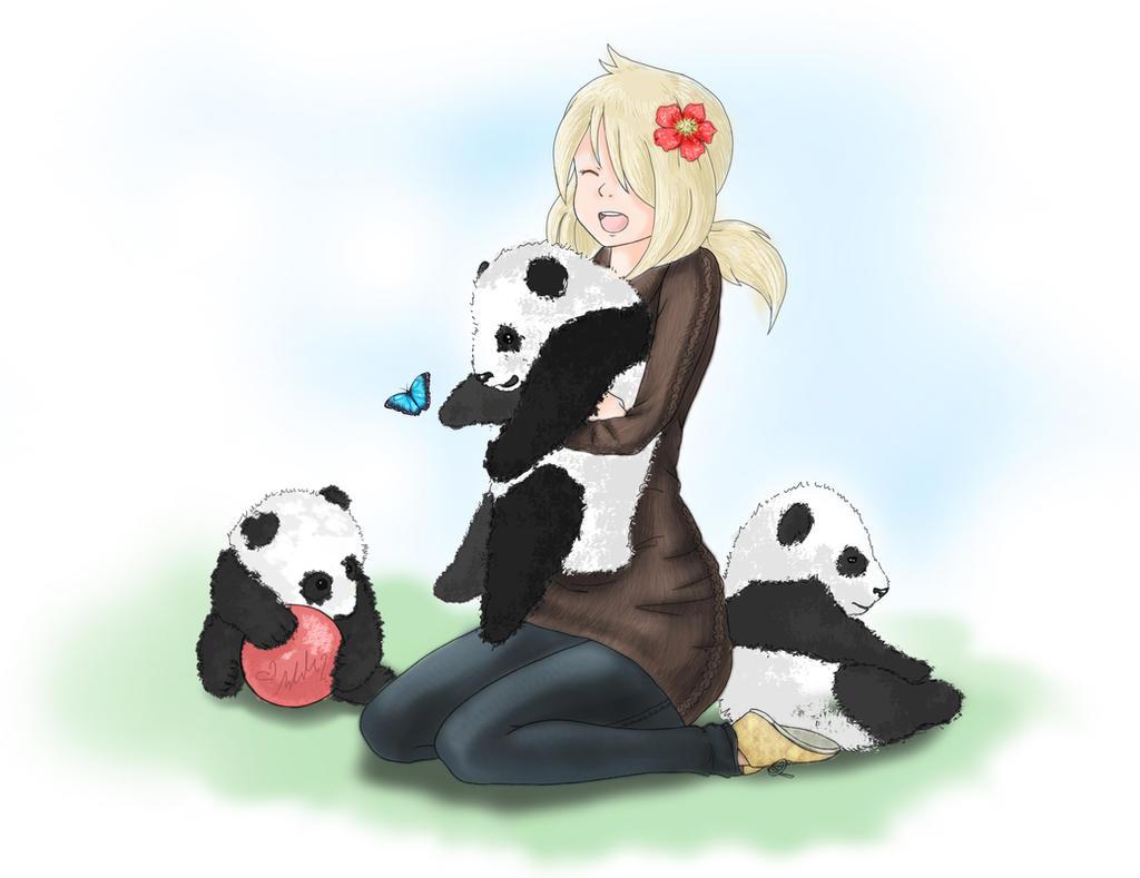 Panda Cuteness by YummingDoe4