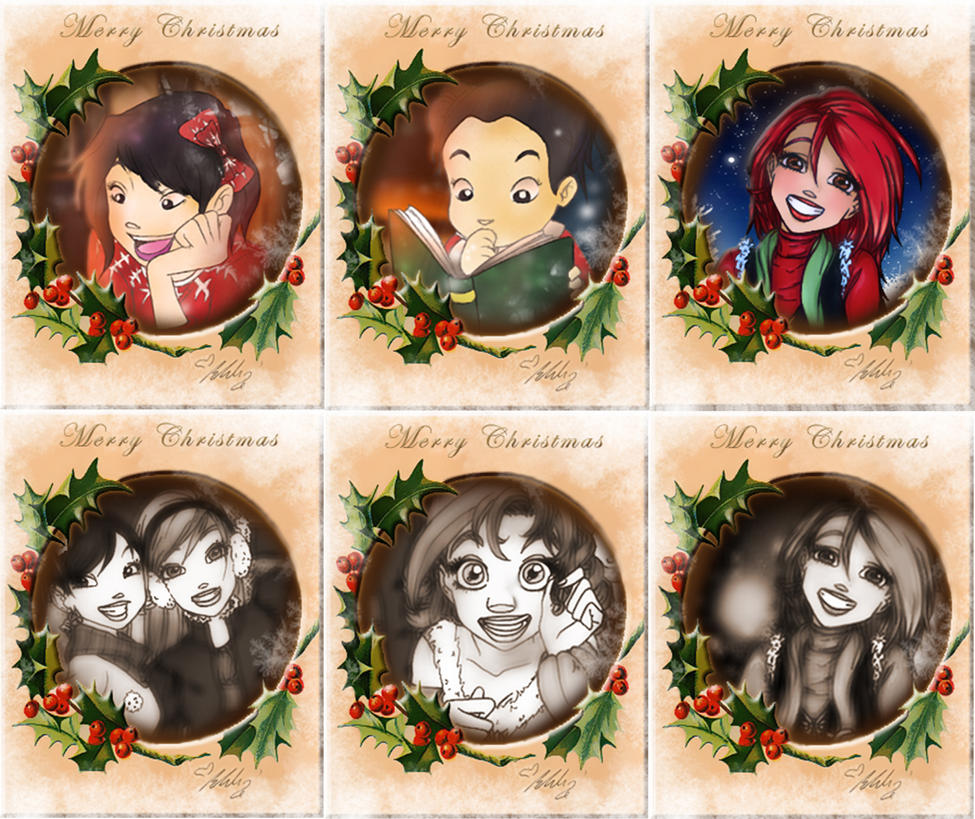 Christmas Cards by YummingDoe4