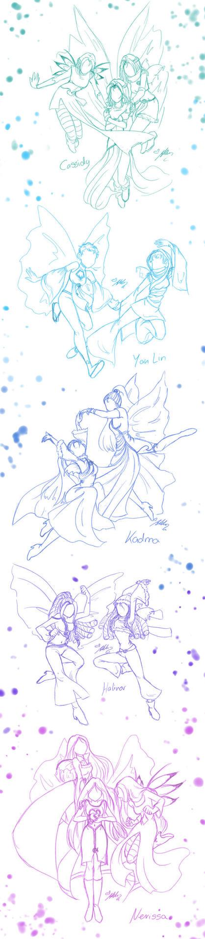 Sketchdump C.H.Y.K.N. by YummingDoe4
