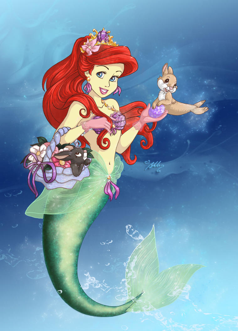Ariel - Happy Easter by YummingDoe4