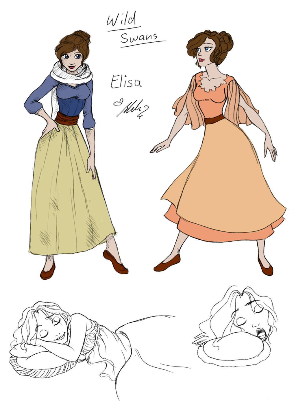 New Princess Design by YummingDoe4