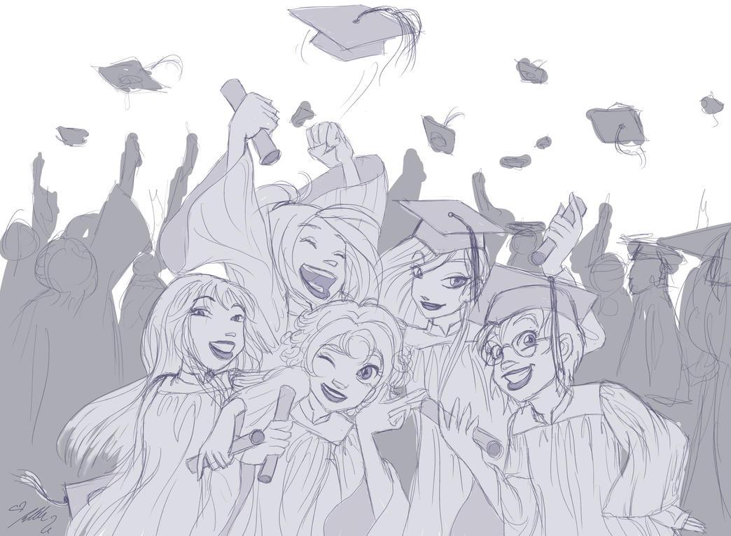 WITCH Graduation Sketch by YummingDoe4