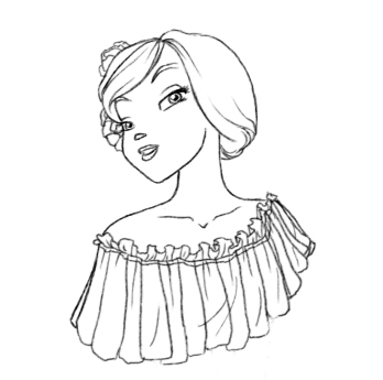 Cornelia the rose by YummingDoe4