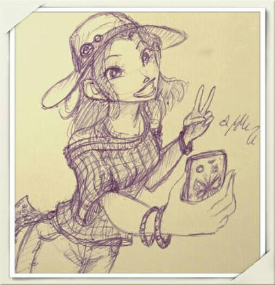 Hay Lin - Sunny Day Sketch by YummingDoe4