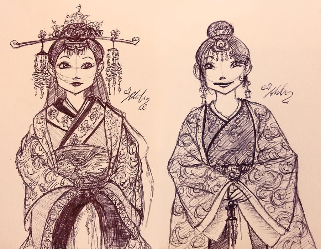 Hay Lin historic by YummingDoe4