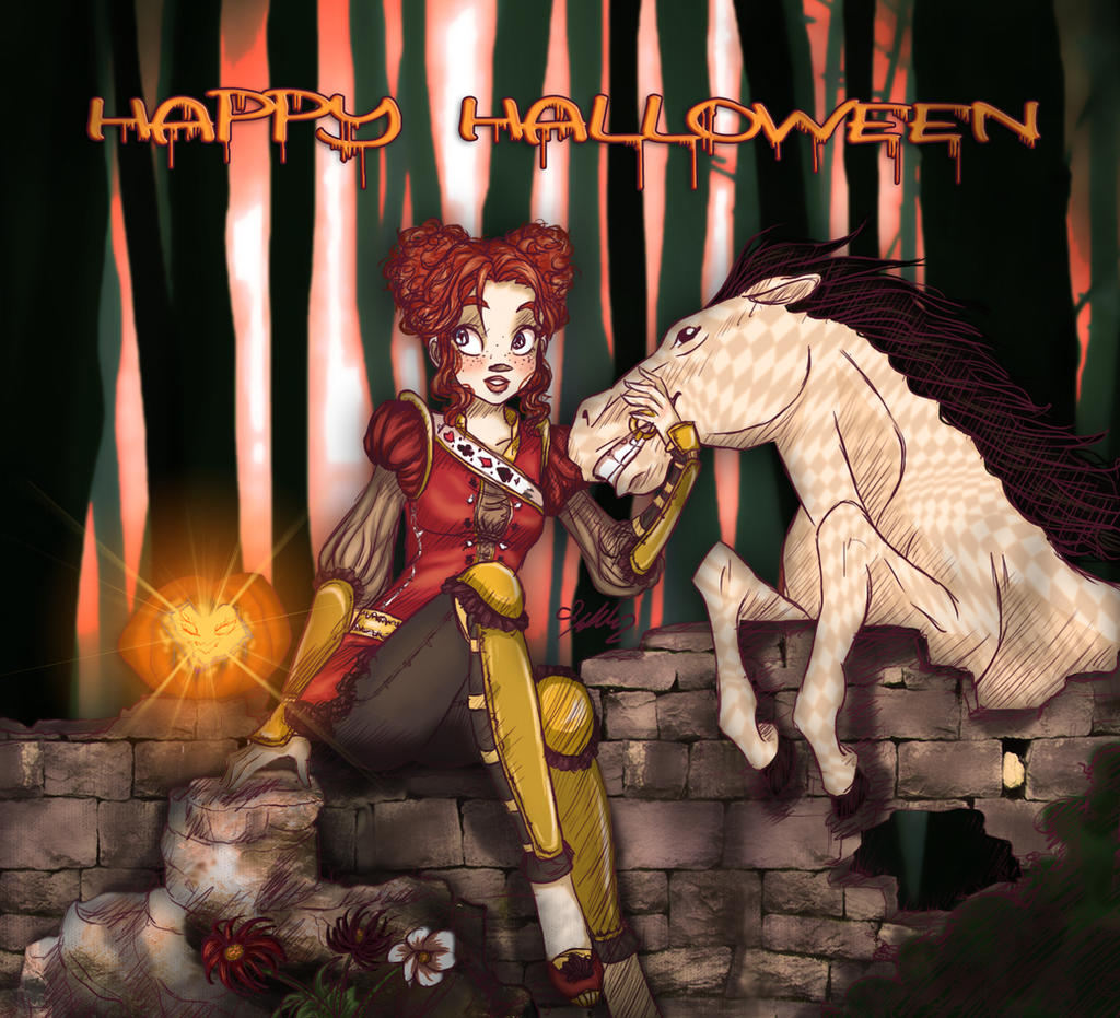 Witchy Halloween Greetings! by YummingDoe4