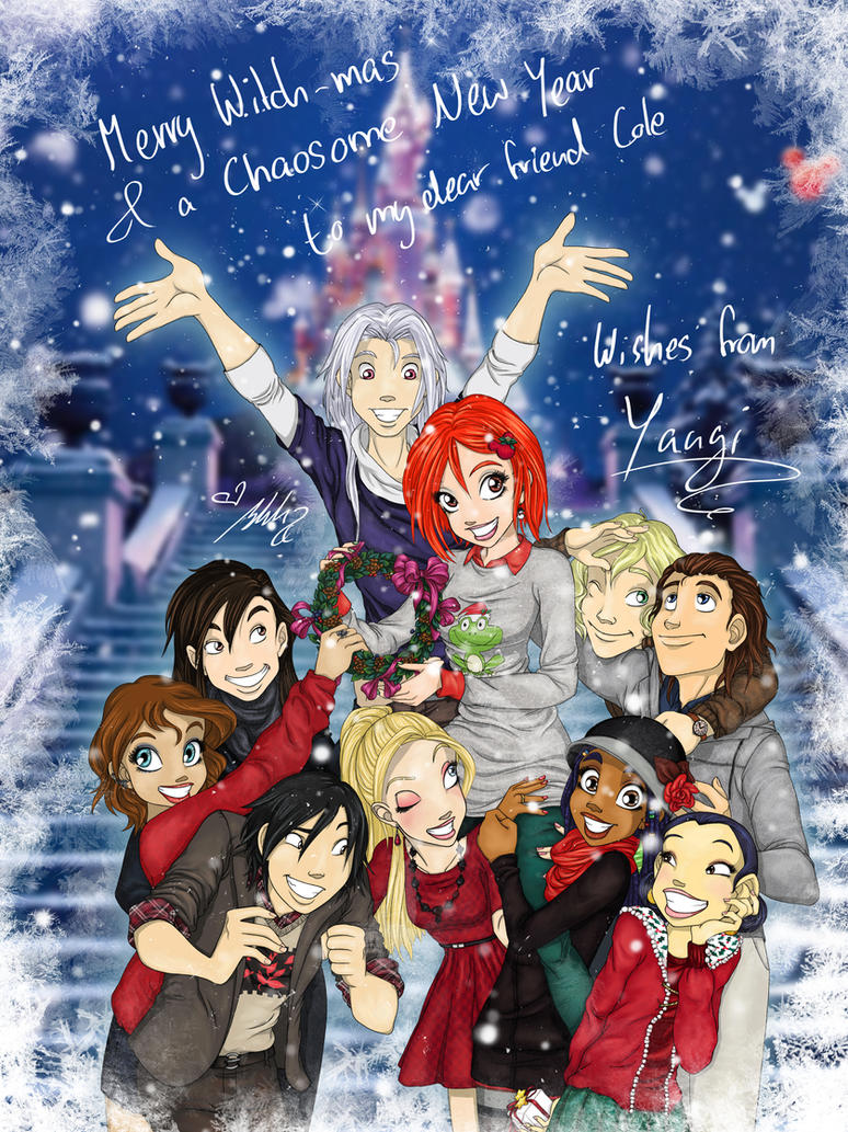 Merry WITCH-mas! by YummingDoe4