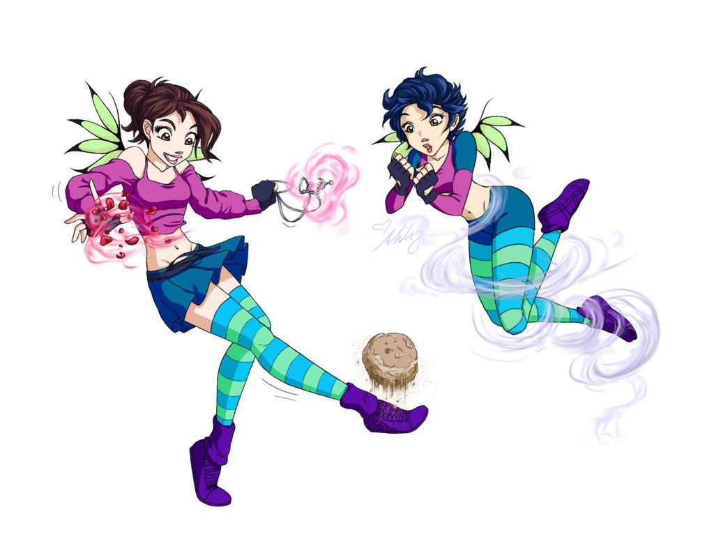 Ariel and FeiYen [COM] by YummingDoe4