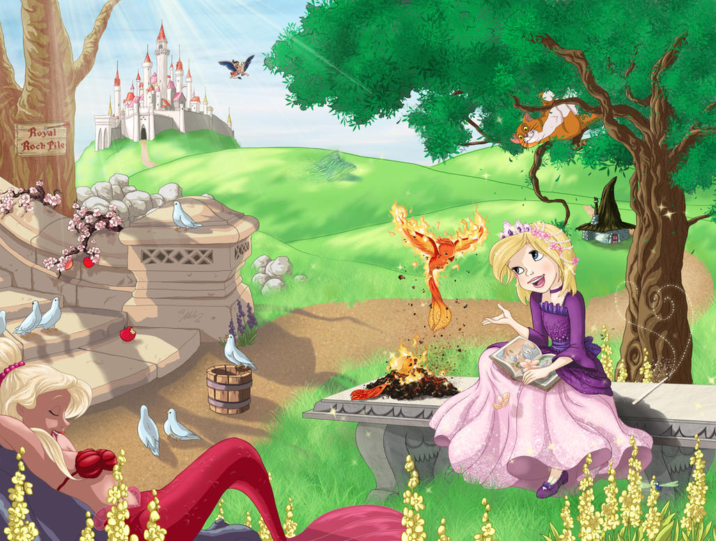Princess Phoenix FIN by YummingDoe4
