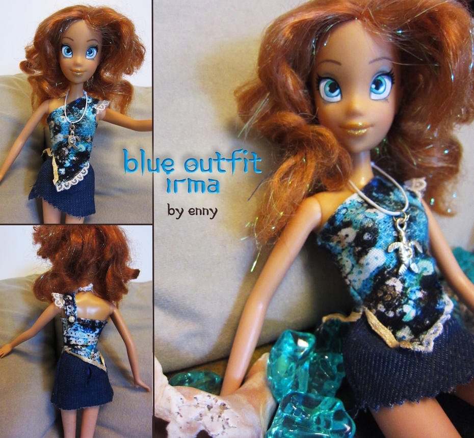 Irma Lair doll in new dress by YummingDoe4