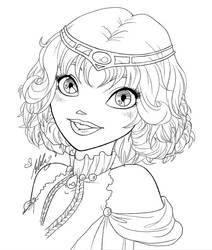 Queen Elyon Portrait