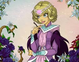 Queen Elyon in Violet