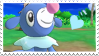Popplio Stamp by Rhoola