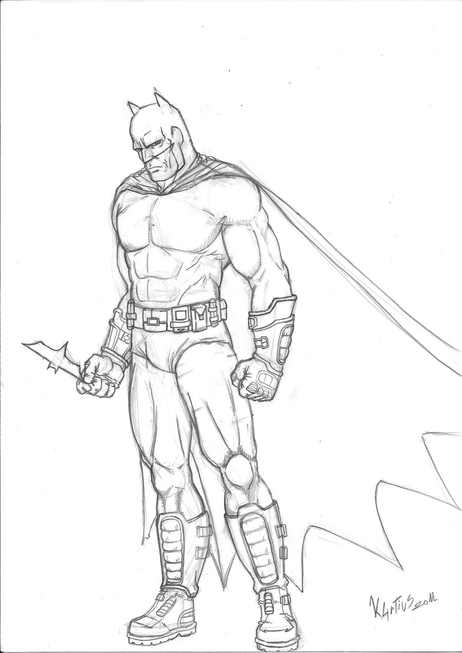 disegni da colorare di batman arkham city