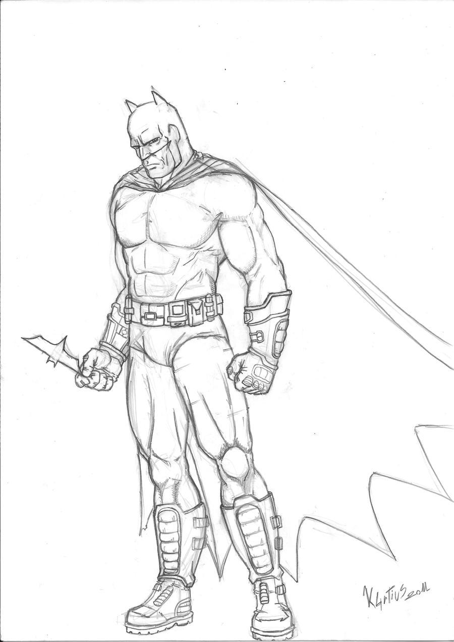 disegni da colorare di batman arkham city