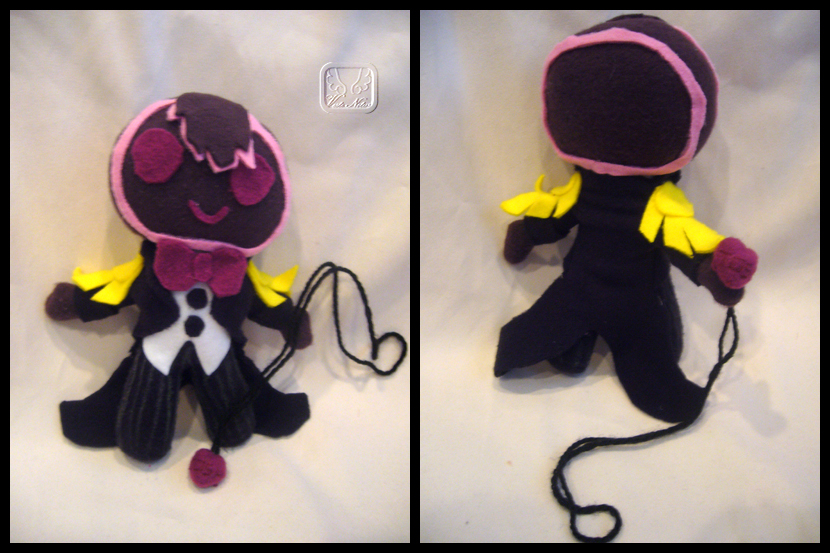 Bleedman's Gingerman Plushie by VesteNotus