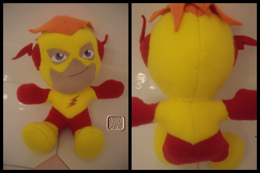 Kid Flash the Plushie by VesteNotus