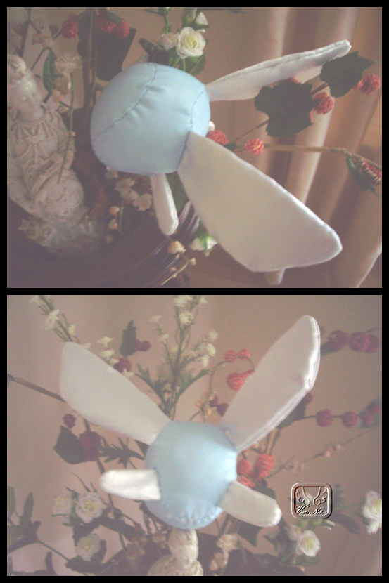 Navi the Fairy Plushie by VesteNotus