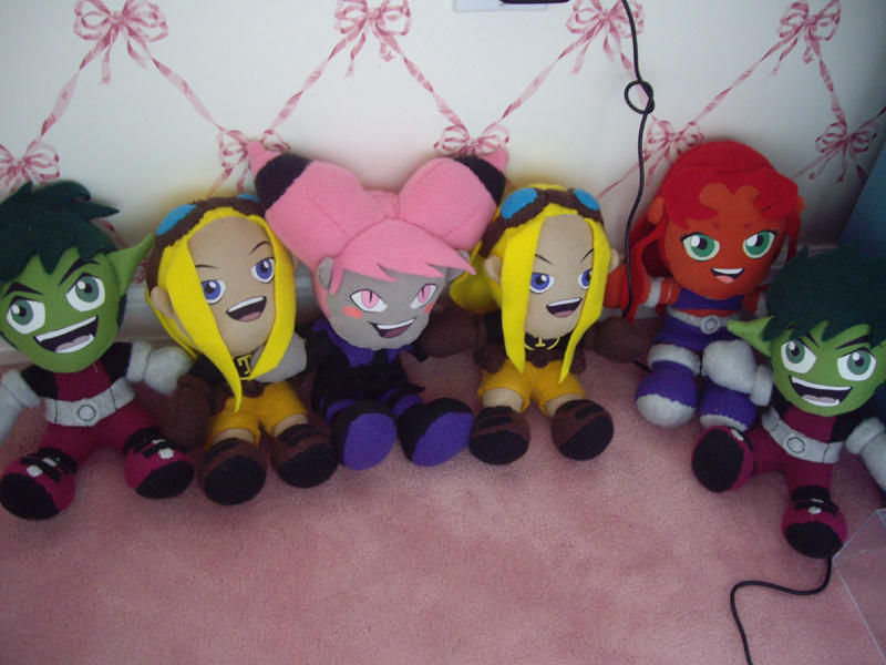 -The Magic Six- 6 Plushies by VesteNotus