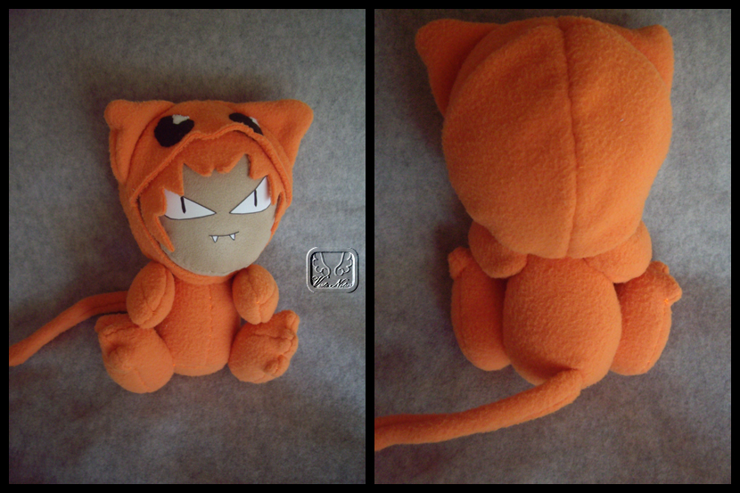 Kyo the Cat Plushie by VesteNotus
