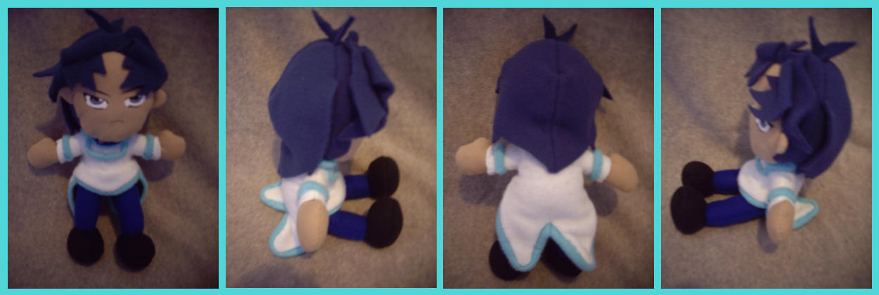 Ryo a.k.a. Zane the Plushie by VesteNotus