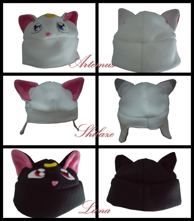 Hat Pack: Artemus,Shilaze,Luna by VesteNotus