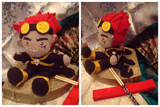 Jack Spicer the Plushie