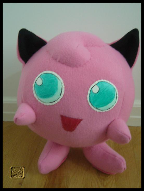 Pokemon: Jigglypuff Plushie by VesteNotus