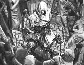 Farewell Crusader by asemharun