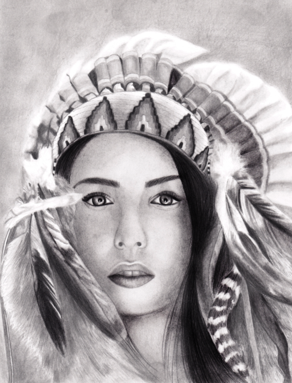 Pocahontas by asemharun