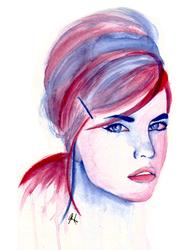 Violet II by asemharun