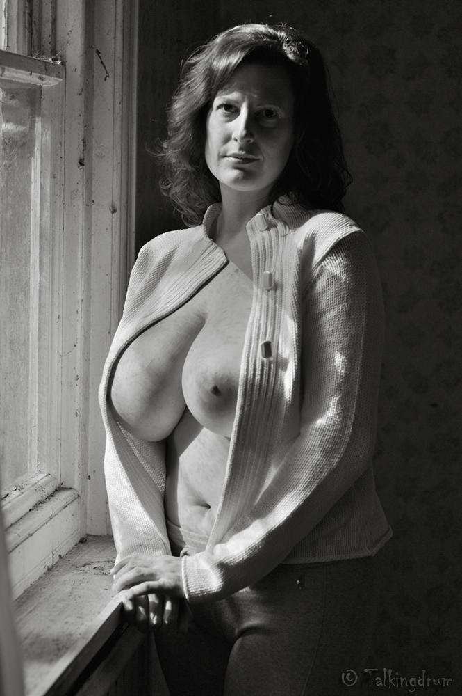 image Big boob topless boxing