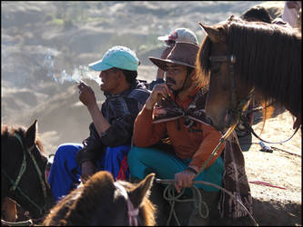 Indonesian Horsemen by Talkingdrum