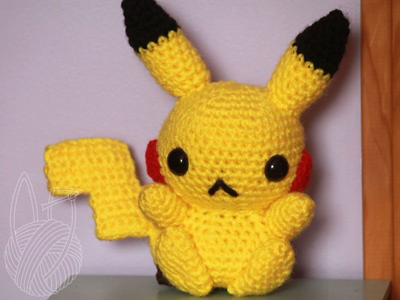 Pikachu by theyarnbunny