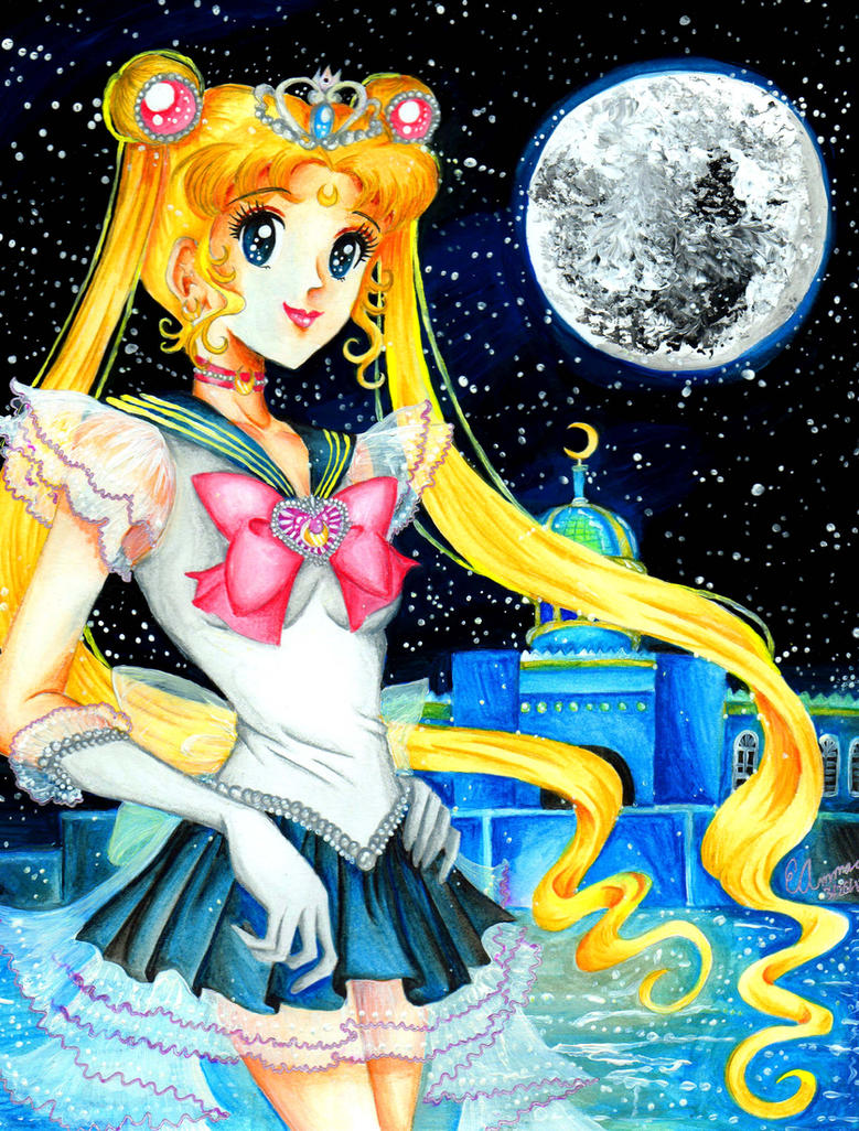 Princess Sailor Moon by ArtsyVana