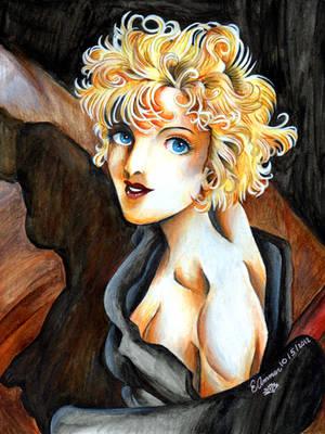 Madonna IV by ArtsyVana