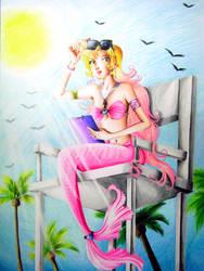 Mermaid P.E. Teacher by ArtsyVana
