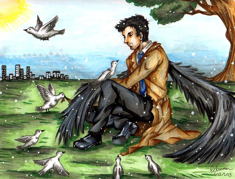 Castiel by ArtsyVana