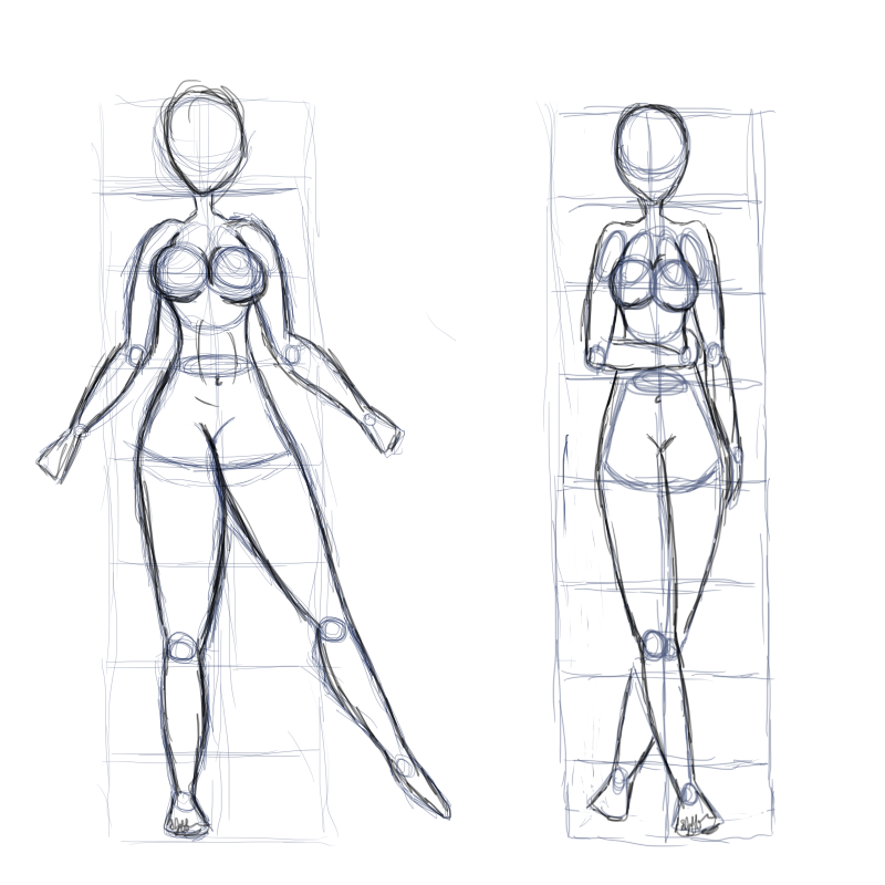 2 figure templates by Branding-Time on DeviantArt