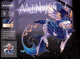 [minkin ref] amaris by jaywalkings