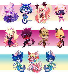 Show by Rock!! Charms! by jaywalkings