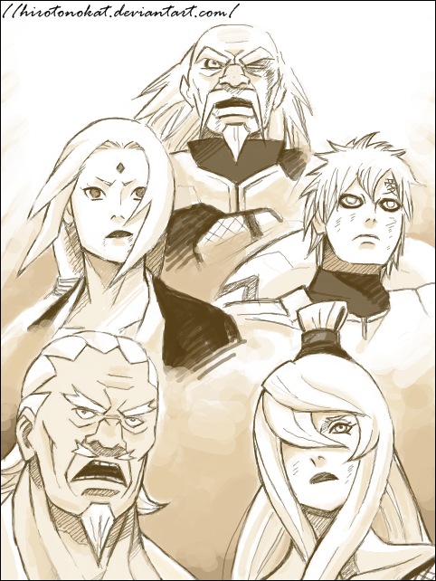 5 kages power full's by HirotoNokat