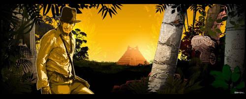 Indiana Jones by berov