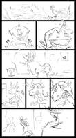 Dragon + Toothbrush Sketch by berov